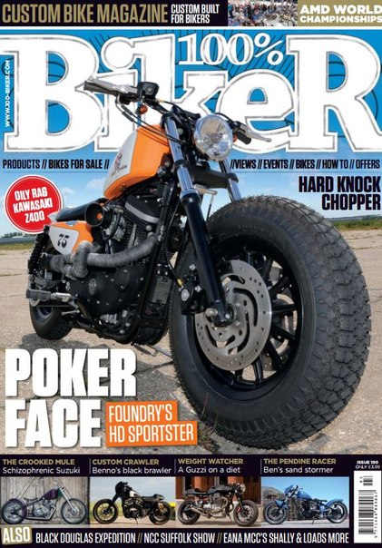 Download 100% Biker Issue 190 - 2015