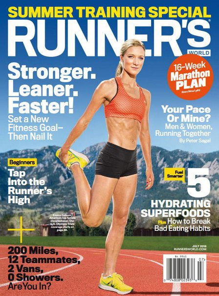 Download Runner s World USA - July 2016