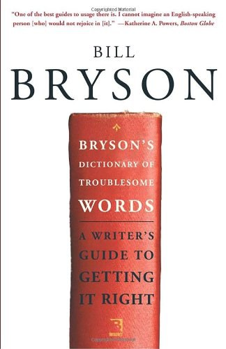 Download 1bryson bill dictionary of troublesome words