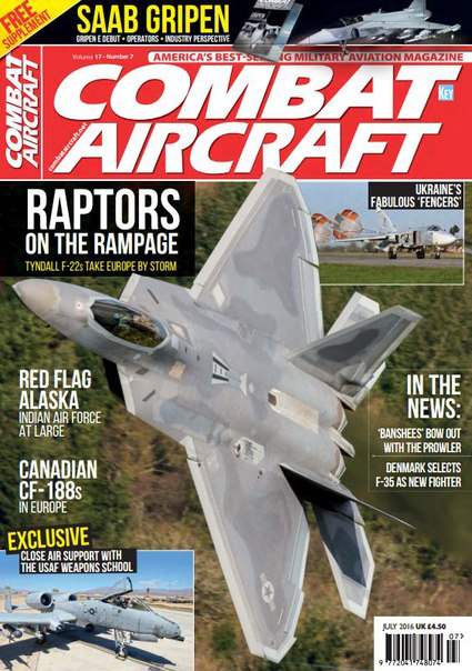 Download Combat Aircraft - July 2016
