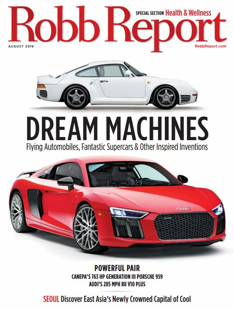 Robb Report – August 2016 USA