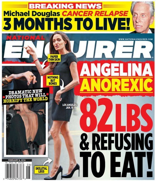 Download National Enquirer - February 8, 2016