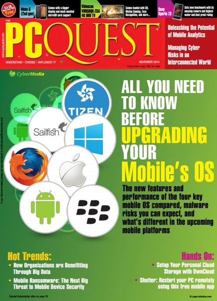 Download PCQuest - November 2014 IN