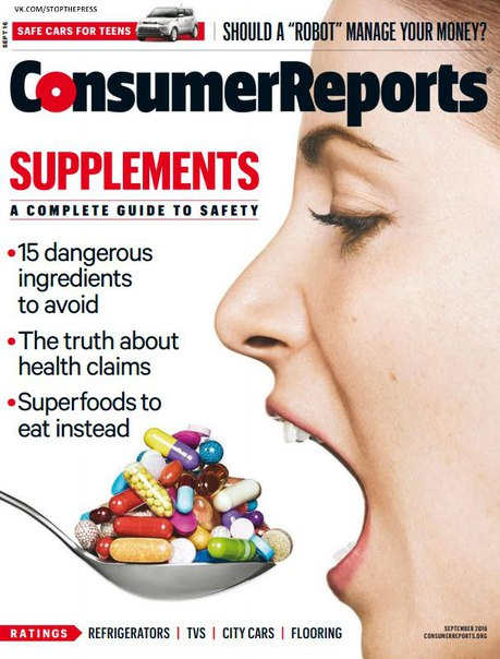 Download Consumer Reports - September 2016