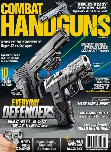 Download Combat Handguns - February 2016