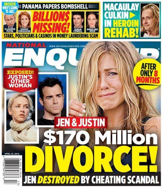 Download National Enquirer - April 25, 2016