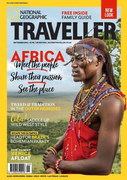 Download National Geographic Traveller UK – September 2016
