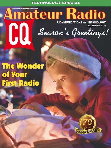 Download CQ Amateur Radio - December 2015