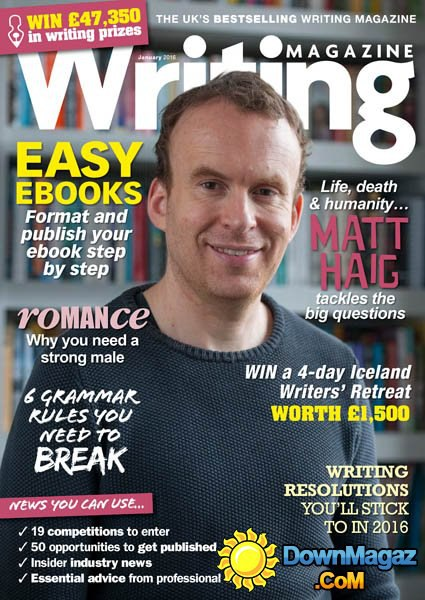 Writing Magazine – January 2016 UK