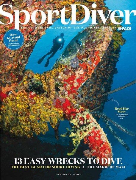 Sport Diver – April 2016 USA