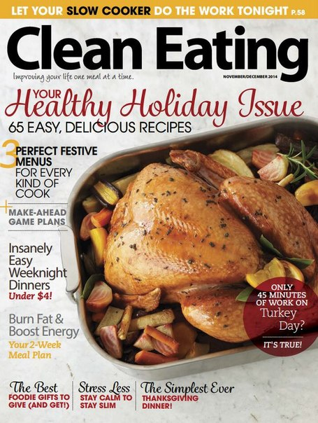 Food cooking magazines pdf download online recipes magazine clean eating december 2014 usa forumfinder Gallery