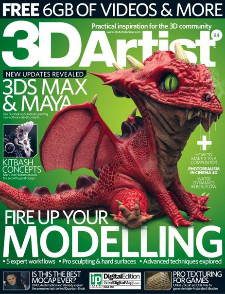 Download 3D Artist - Issue 94 2016