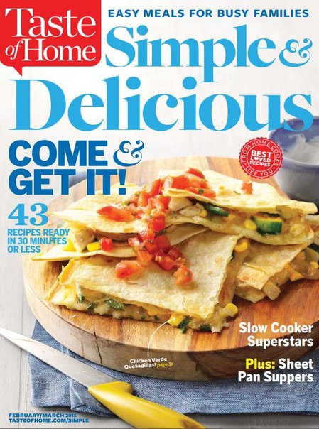 Download Taste of Home Simple & Delicious - March 20