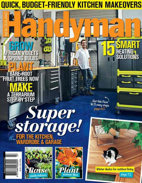 Download New Zealand Handyman – July 2016