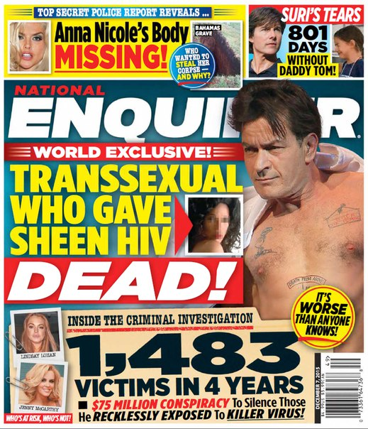 Download National Enquirer - December 7, 2015