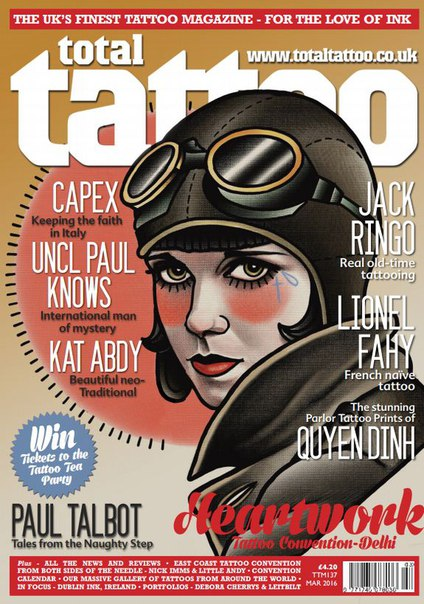 Download Total Tattoo March 2016