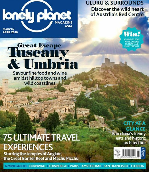 Download Lonely Planet Asia - March-April 2016
