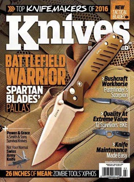 Download Knives Illustrated - April 2016