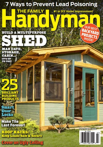 Download The Family Handyman - August 2016