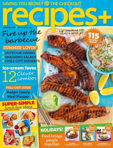 Download recipes+ - January 2015 AU