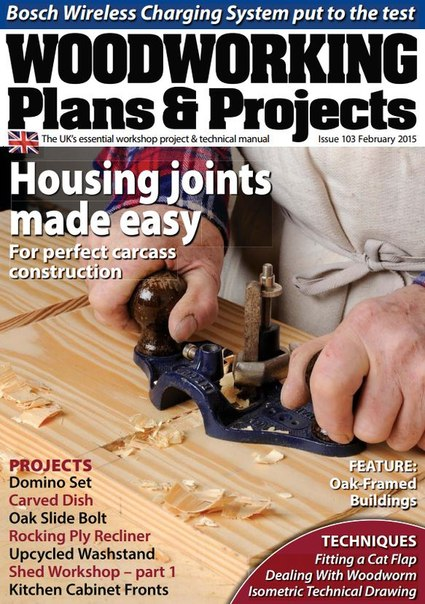 Download Woodworking Plans & Projects - February 201