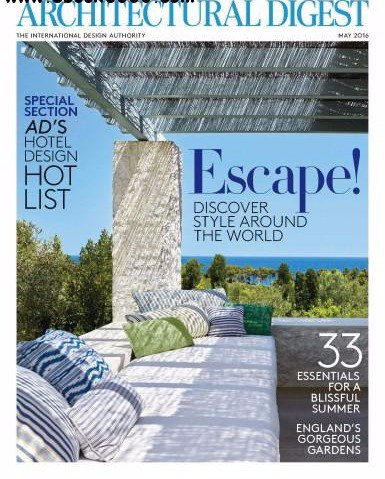 Architectural Digest May 2016 Pdf Download Free