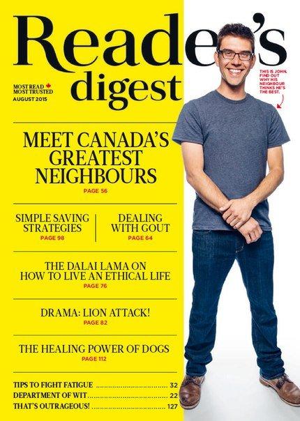 Download Reader's Digest - August 2015 CA
