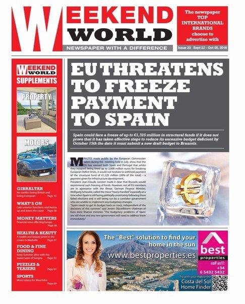 Download Weekend World - Issue 23- September 22 - October 5 2016