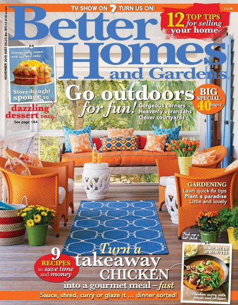 Download Better Homes and Gardens - November 2015