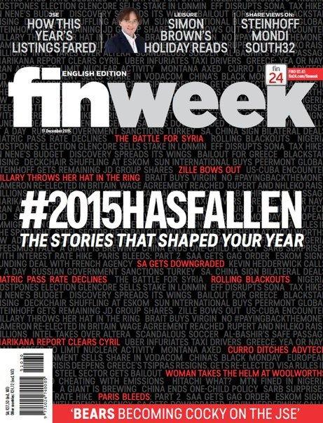 Finweek – December 17, 2015 ZA