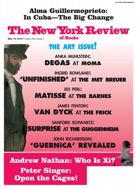 Download The New York Review of Books - May 12, 2016