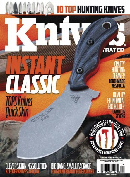 Knives Illustrated - September 2016 PDF download free