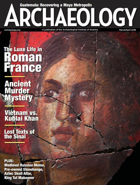 Download Archaeology - March-April 2016