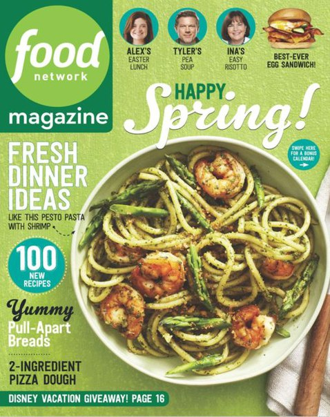 Download Food Network Magazine [April 2016]