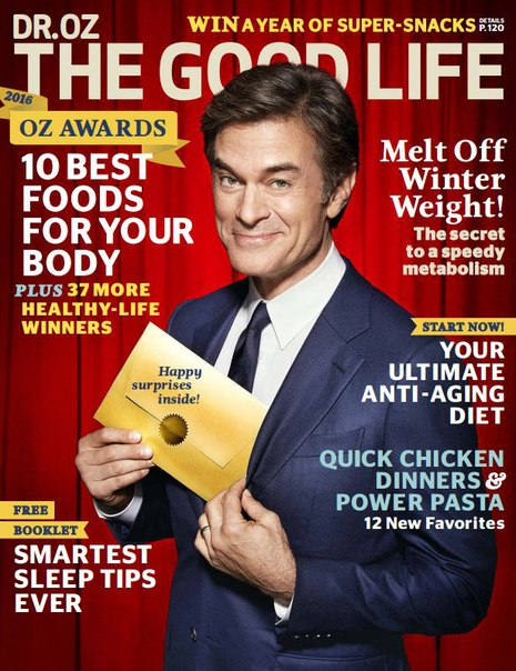 Download Dr Oz Good Life - March 2016