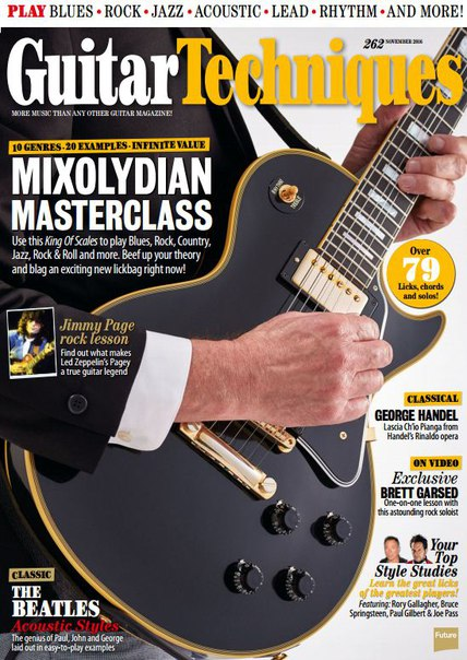 Download Guitar Techniques – November 2016