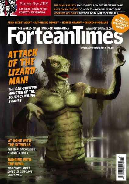 Download Fortean Times - November 2015