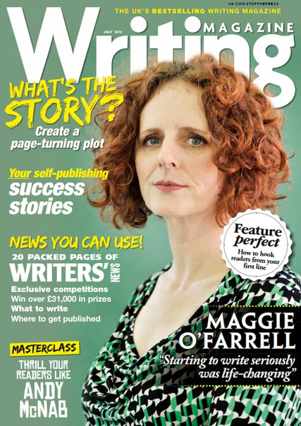 Writing Magazine July 2016