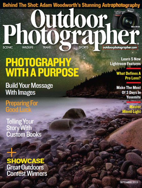 magazine outdoor photographer nature inside september pdf usa photographic photographers issue lightroom cc bradley jason written features shot magazinelib