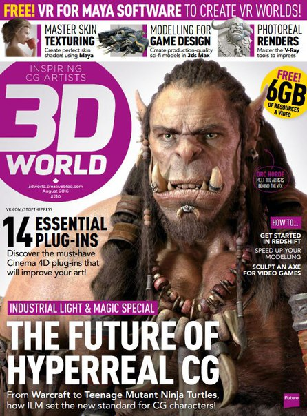 Download 3D World - August 2016