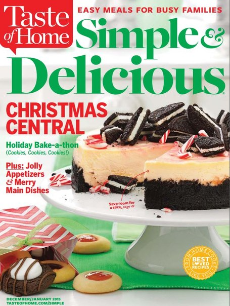 Download Taste of Home Simple & Delicious - January