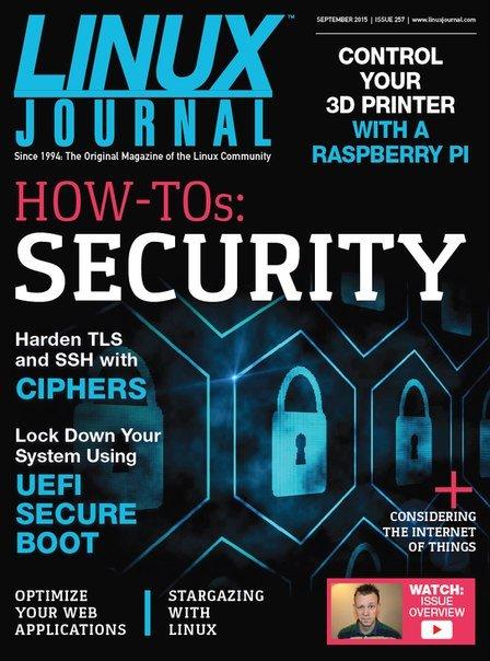 Download Linux Journal - September 2015