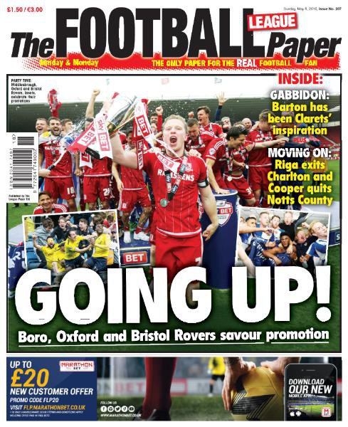Download The Football League Paper - 8 May 2016