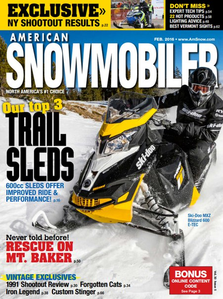 Download American Snowmobiler - February 2016