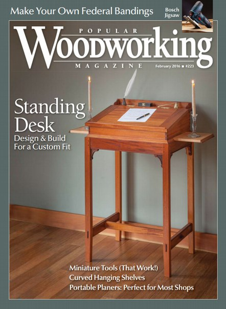 Download Popular Woodworking - February 2016