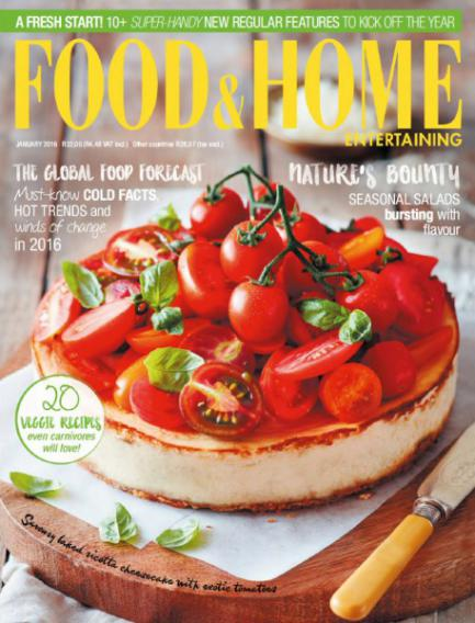 Download Food & Home Entertaining - January 2016