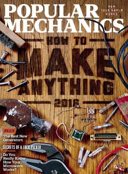 Download Popular Mechanics USA - October 2016