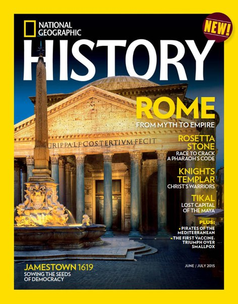 National Geographic History – July 2015 USA