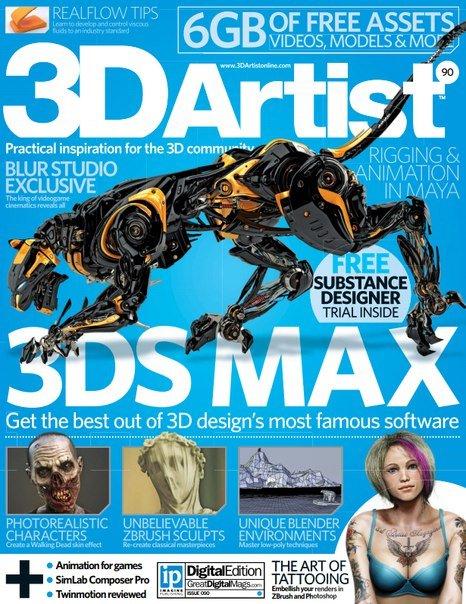 Download 3D Artist - Issue 90 2016