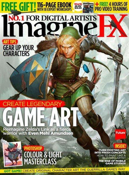 Download ImagineFX - November 2015